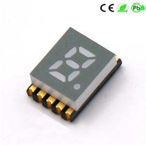 Oberflächenmontierte Geräte Mini Thin 0.2 Zoll Single Digit SMD 7 Segment SMD LED Display