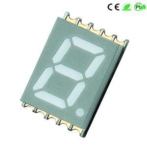 Oberflächenmontierte Geräte 0,39 Zoll einstellige SMD LED 7-Segment-SMD-Anzeige