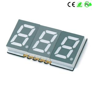 China Hersteller 0,39 Zoll Triple Digit 7 Segment SMD LED Display 3 Digit