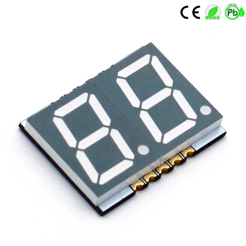 SMD-display met twee cijfers 0,56 inch 2-cijferig 7-segment SMD LED-display