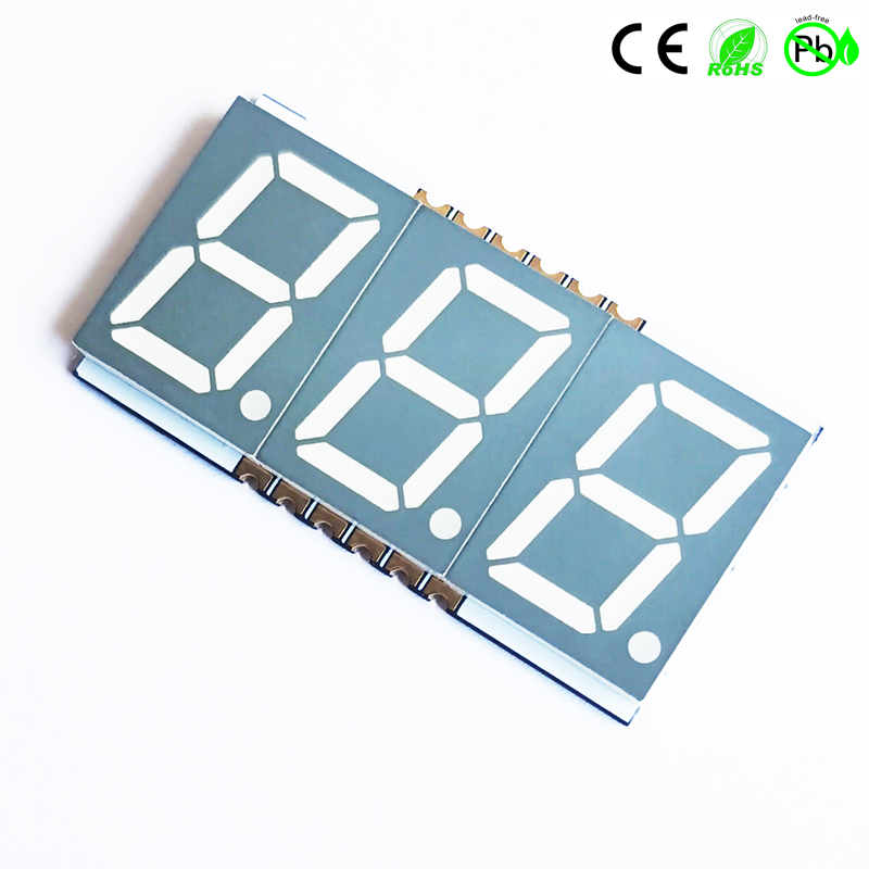 Nieuwe producten SMD drievoudig 0,56 inch 3-cijferig 7-segment SMD LED-display