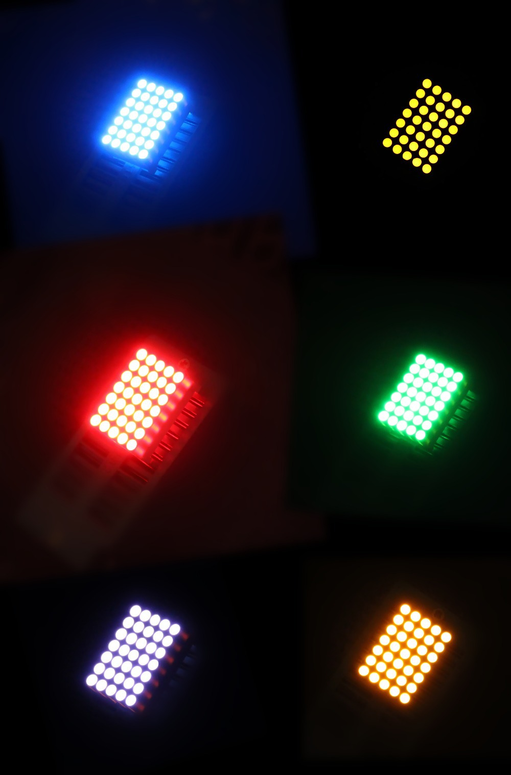 5x7 led dot matrix 3.0mm