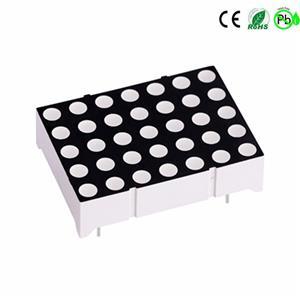 Houkem 11057 3.0mm 5x7 LED-Punktmatrix