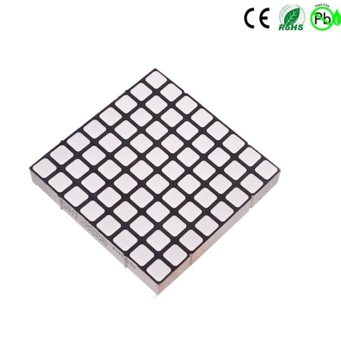 RGB vierkant 8x8 led dot matrix-display
