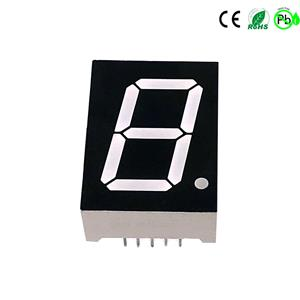 Eencijferig 7 segment led 1 inch zeven segment led display