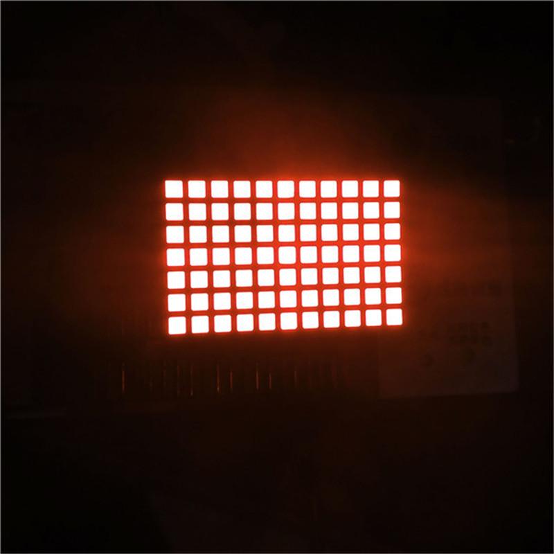 China 11x7 Dot Matrix Led Display