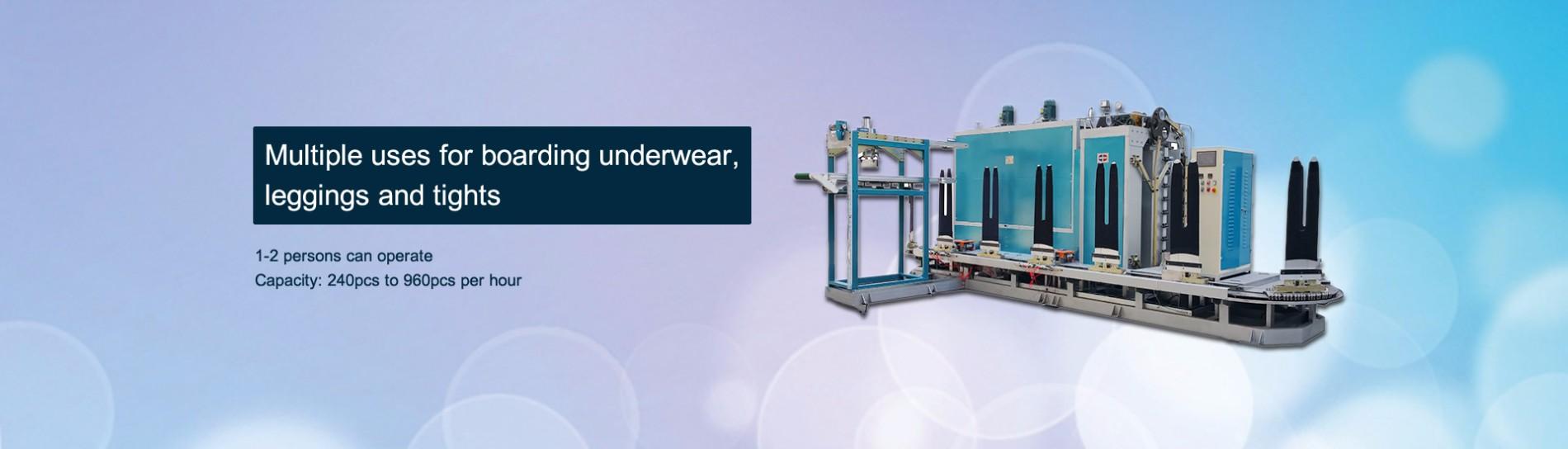 Boarding Machine For Underwear