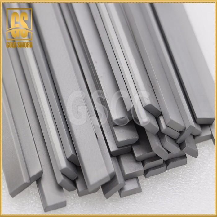 High temperature resistant hard alloy strip