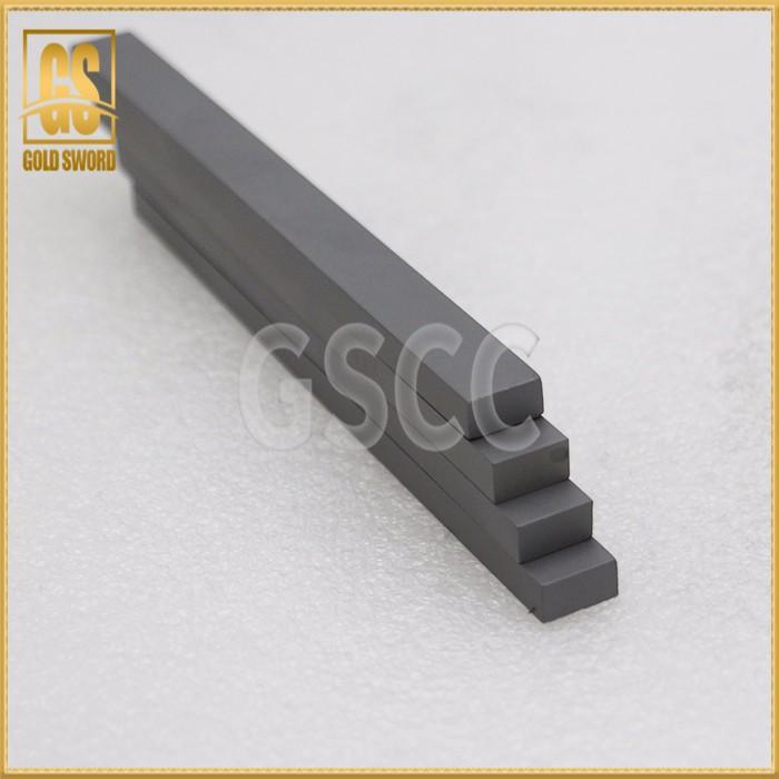 Carbide shaped strip