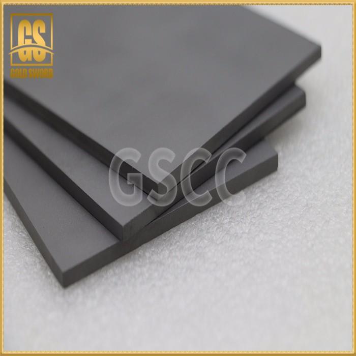 High hardness cemented carbide sheet