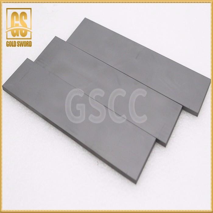 Carbide strip, hard alloy sheet