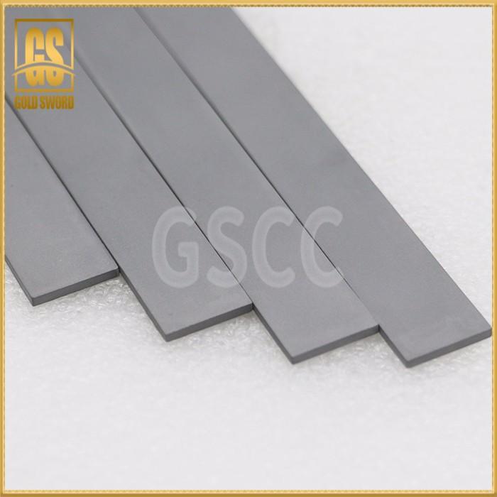 Carbide shaped strips, carbide strips