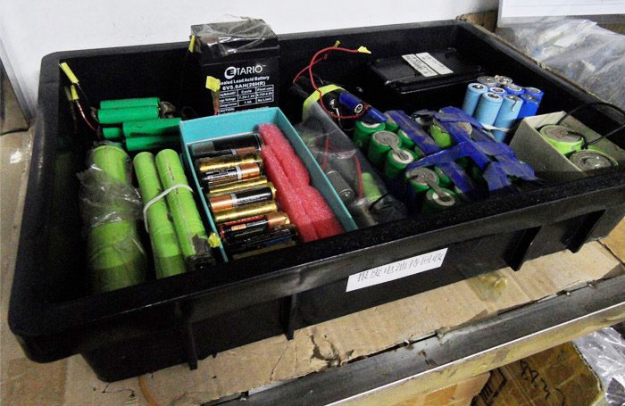 Explore our stories about sustainability-Battery waster