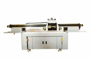 UV Flatbed Printer printing a warm Home for you