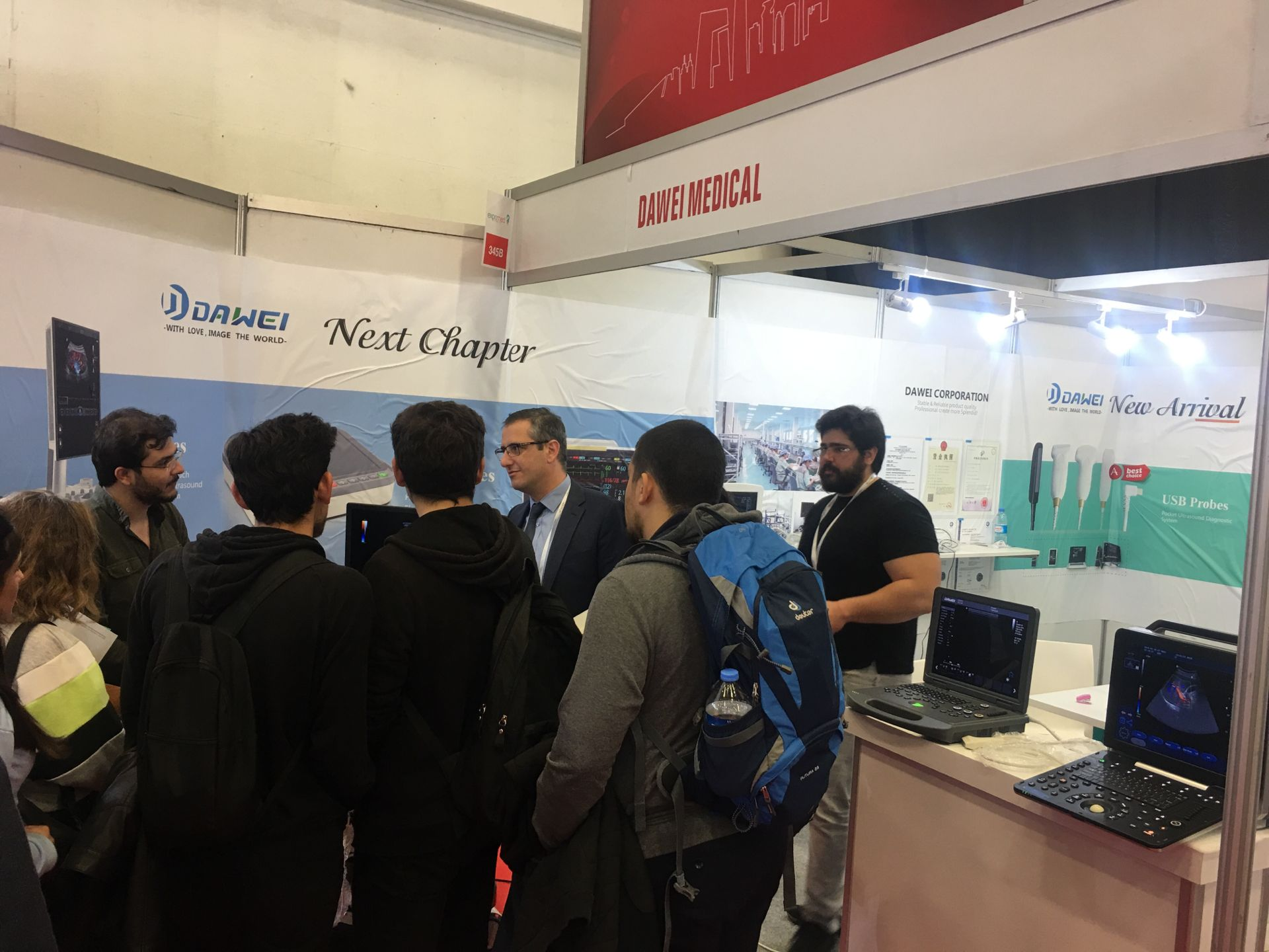 Dawei Expomed Eurasia in Turkey