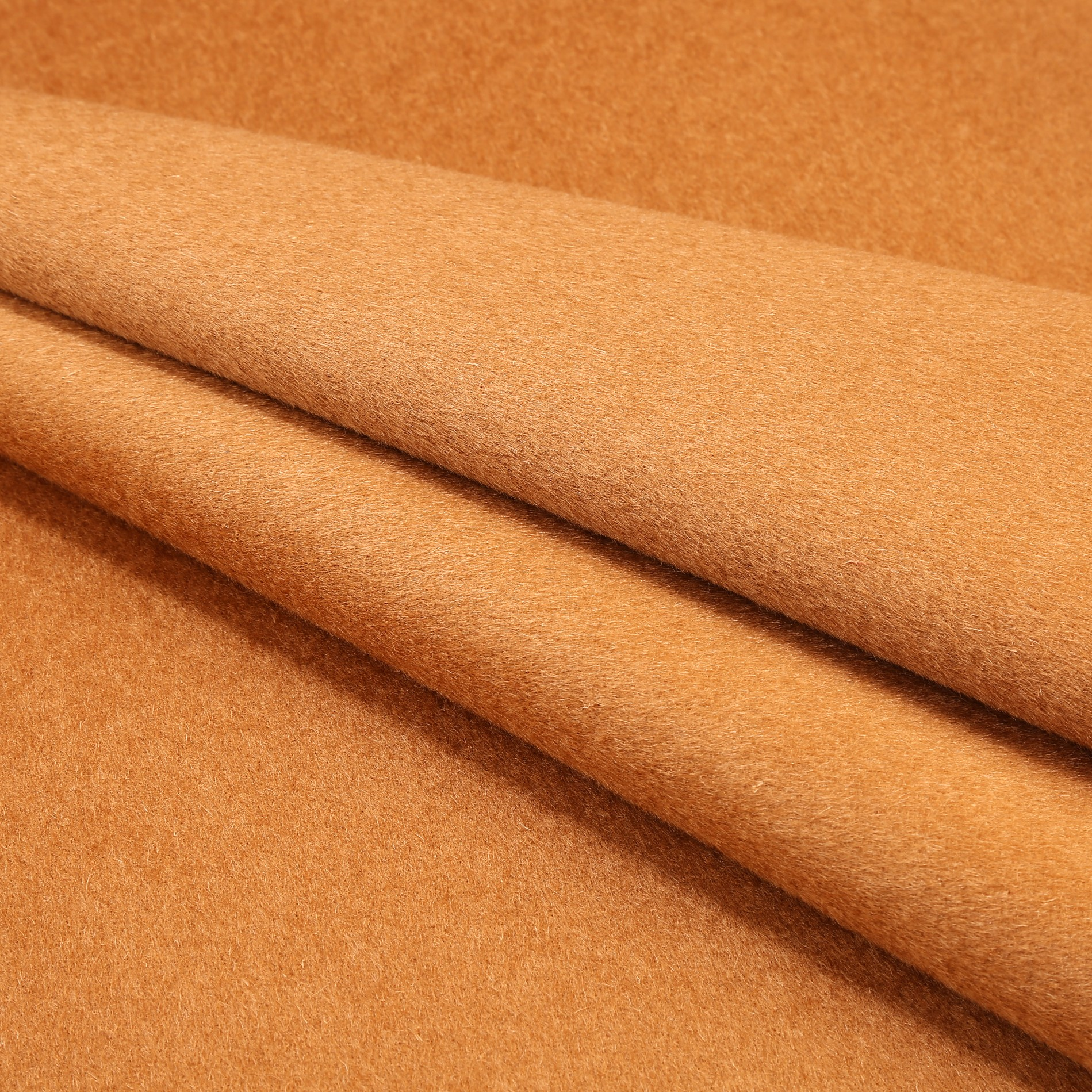 Woolen Overcoating Fabric Camel