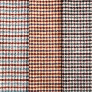 Woollen Plaid Flannel Fabric