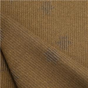 Wool Jacquard Fabric Yellow