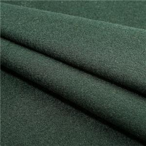 Woolen Overcoat Fabric Green