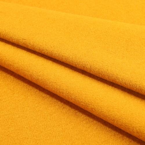 Woolen Overcoating Fabric Yellow