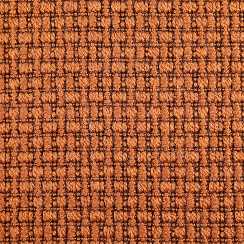 Wool Fancy Fabric Coffee