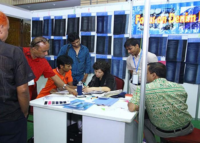 India new Delhi international textile and accessories exhibition