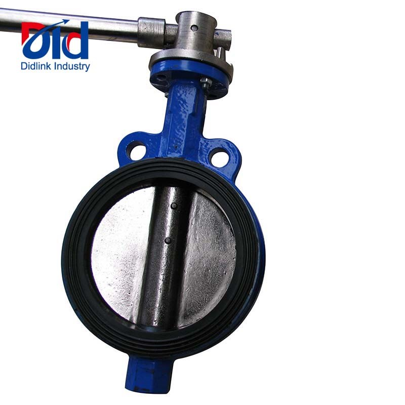 Vulcanized Wrench Operated Butterfly Valve
