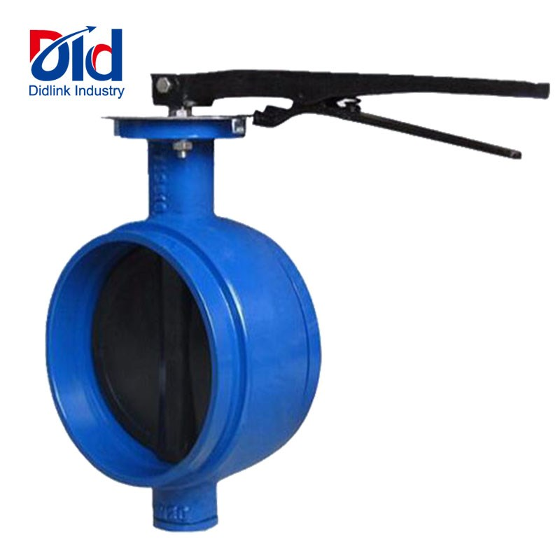 Cast Iron Grooved Butterfly Valve