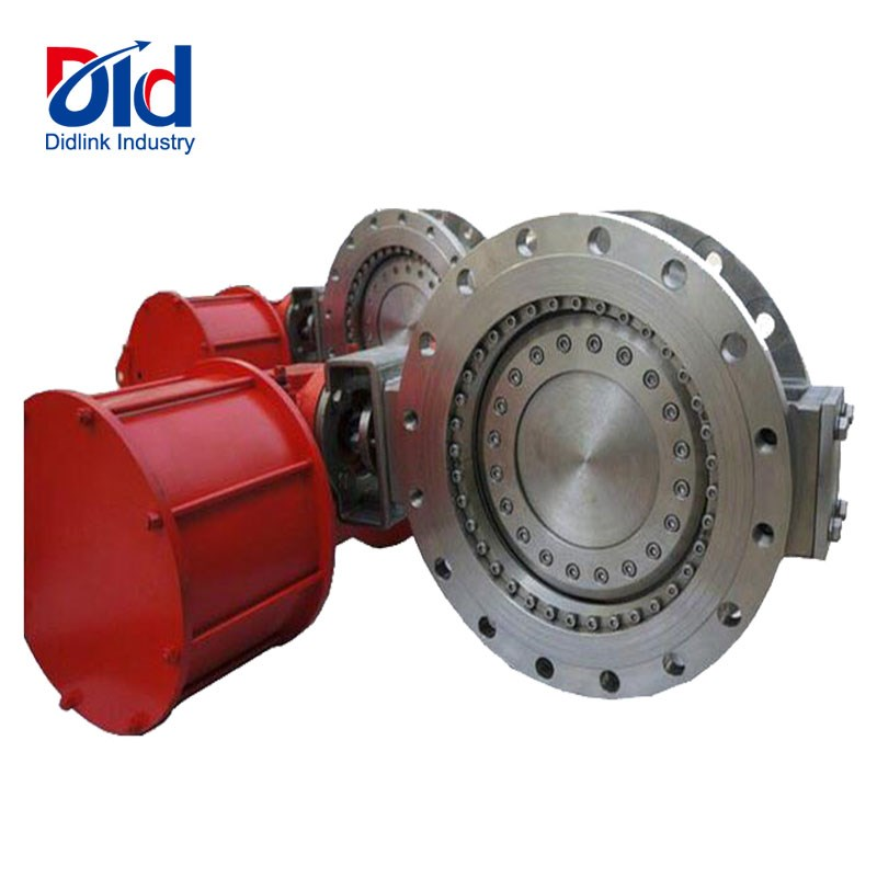 Motorized Stainless Steel Butterfly Valve