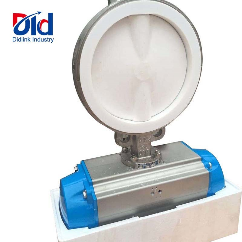 Pneumatic Operated Wafer Butterfly Valve