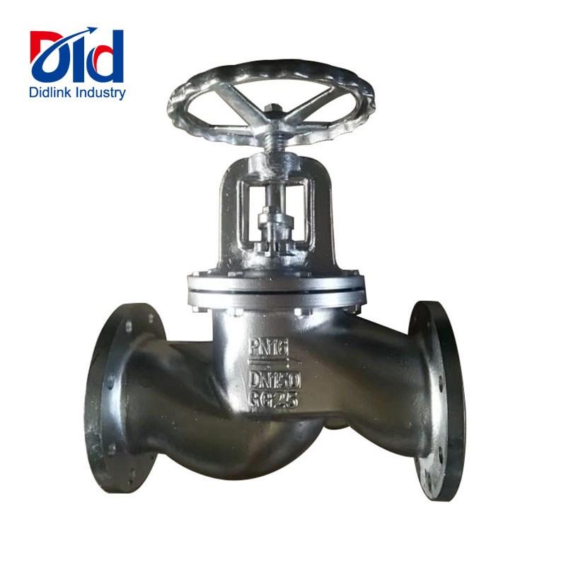 flange type globe valve