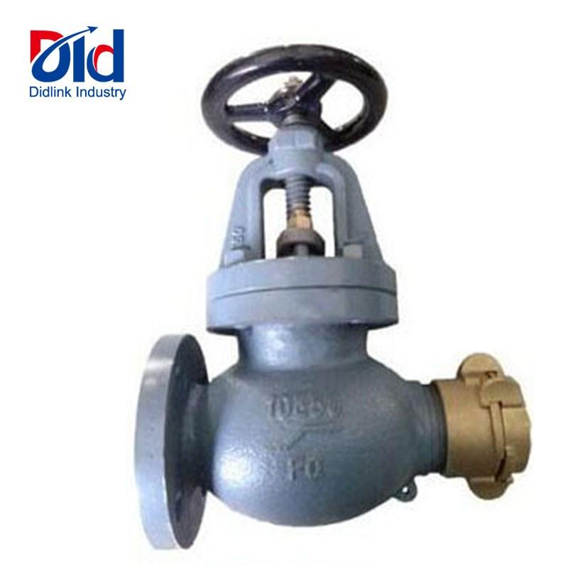 globe cast iron hose valves