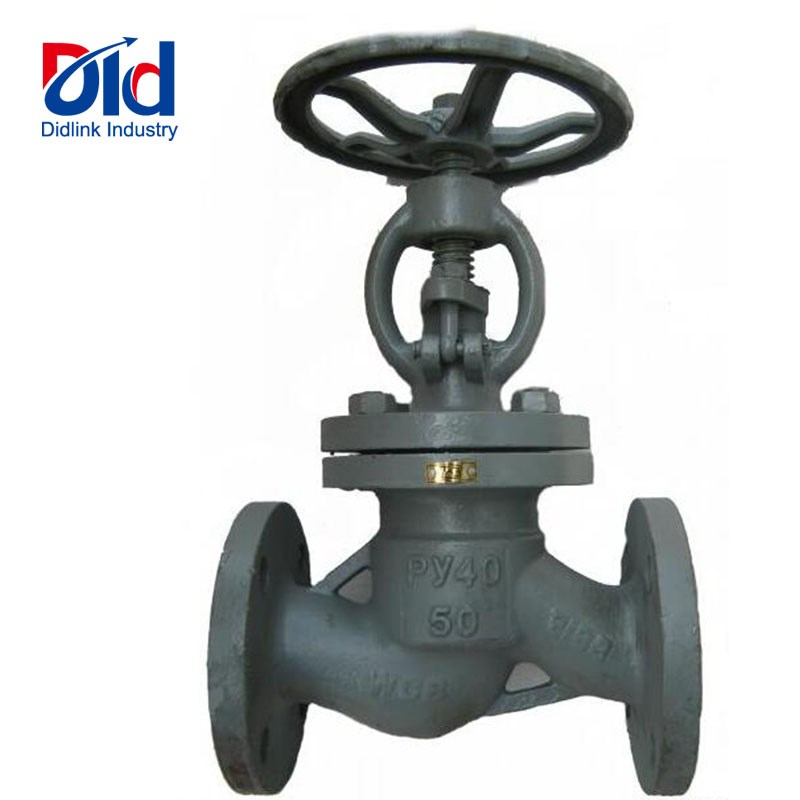 Gost Cast steel globe valves