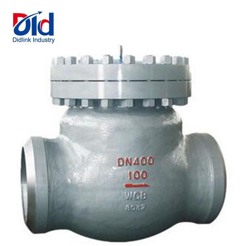 butt welded check valve