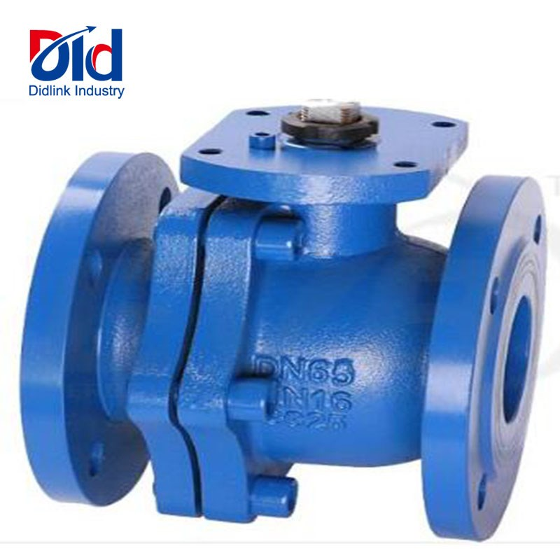 Manual Flange Ball Valve