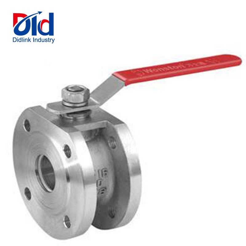 Italian type thin ball valve