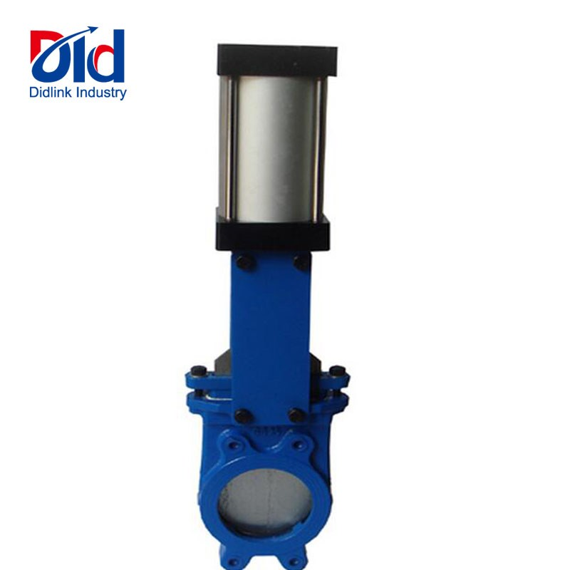 Knife Gate Valve With Pneumatic