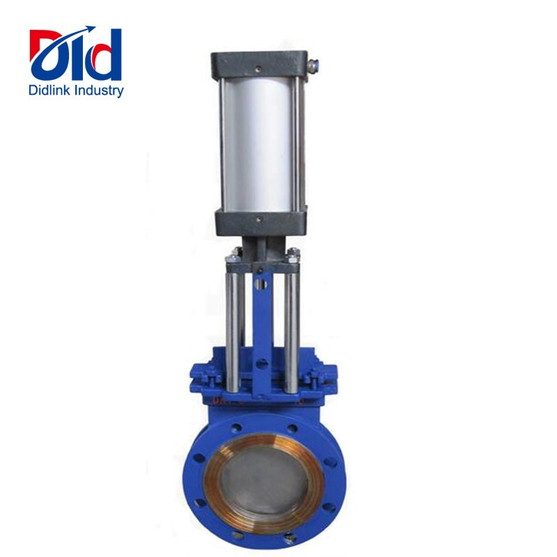 WCB knife gate valve