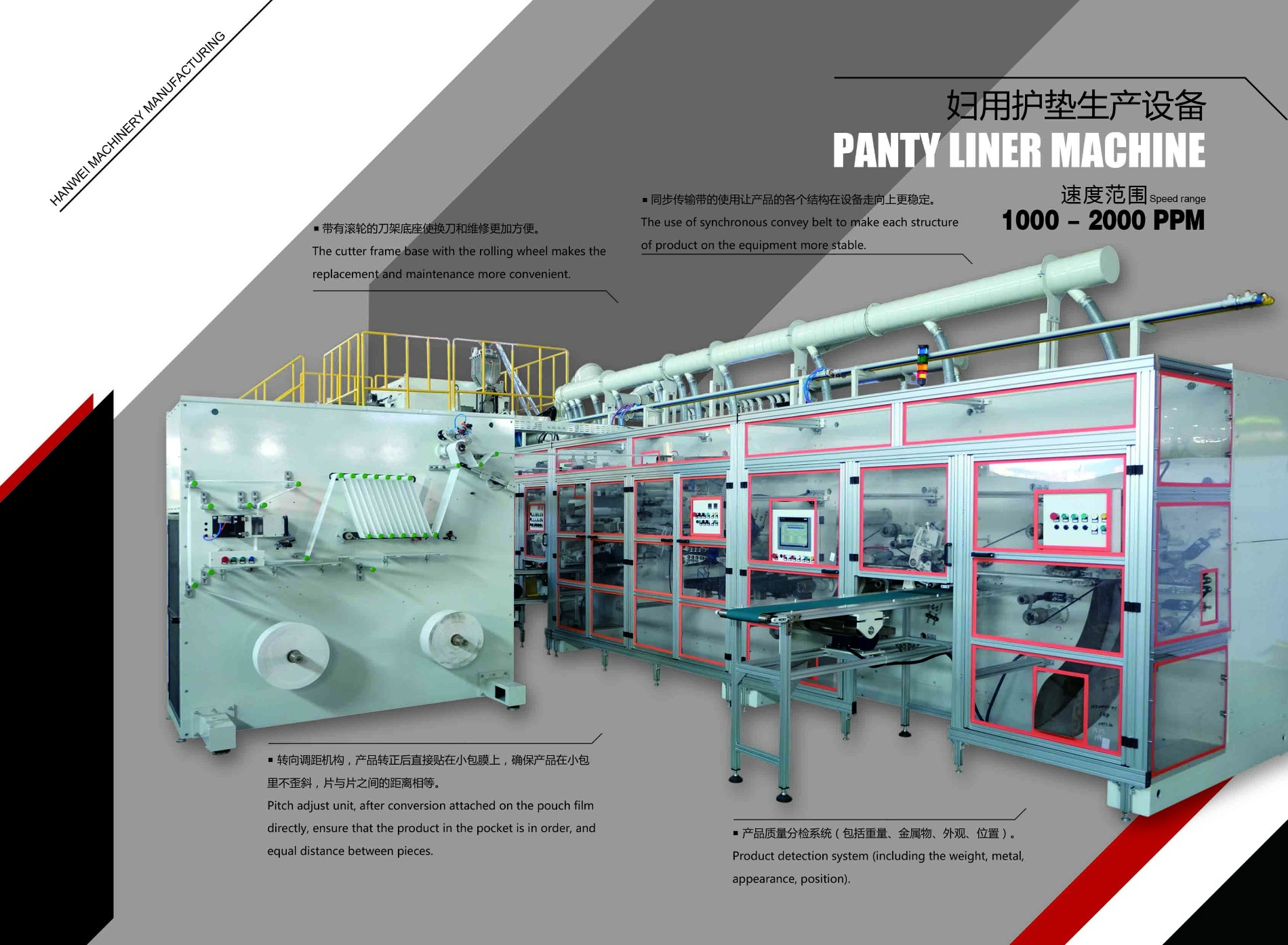 High quality Panty Liner Machine Quotes,China Panty Liner Machine Factory,Panty Liner Machine Purchasing