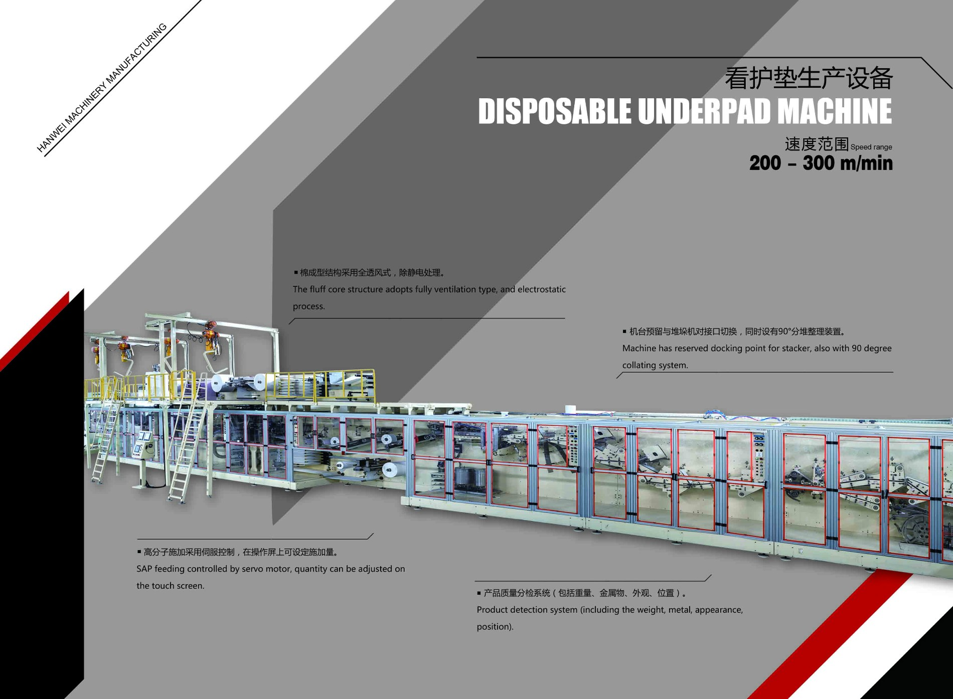 Disposable Underpad Machine