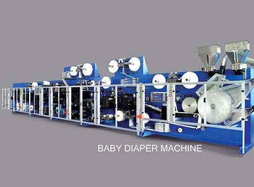 Baby Pad Machine