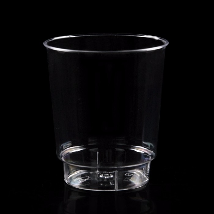 200ml disposable cup transparent hard plastic cup custom aviation Cup thick hard plastic cup hard water 400