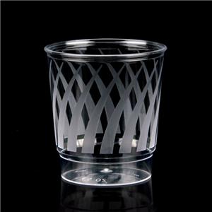 135ml Disposable Cup Plastic Cup plastic water cup custom printed plastic cup