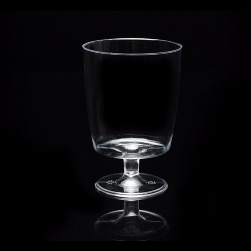 200ml disposable wine glass goblet plastic wine glasses goblet