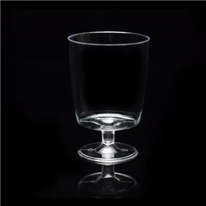 200ml disposable wine glass goblet plastic wine glasses goblet