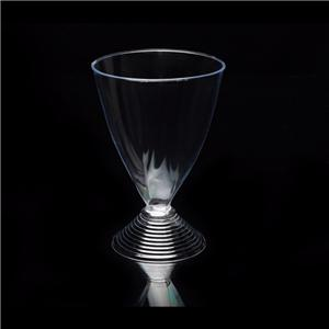 200ml Disposable Whiskey Glass Plastic Disposable Red Wine Glass Goblet Wine Glass French Mug Hard Plastic 90