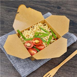 Free sample disposable food grade fast food paper box