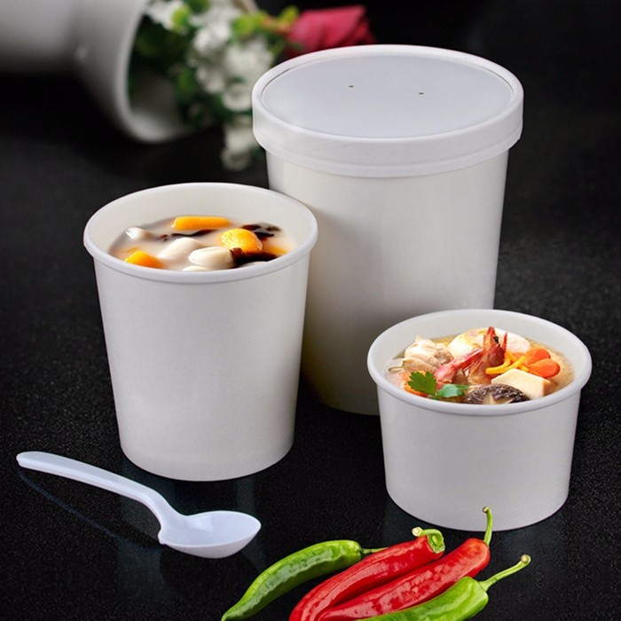 disposable soup cup the paper cup disposable paper cup Custom paper cup