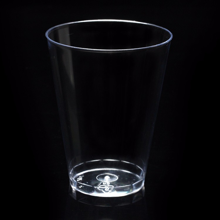 250ml disposable PS plastic cup, aviation Cup, business office, household drinking cup 400 / box