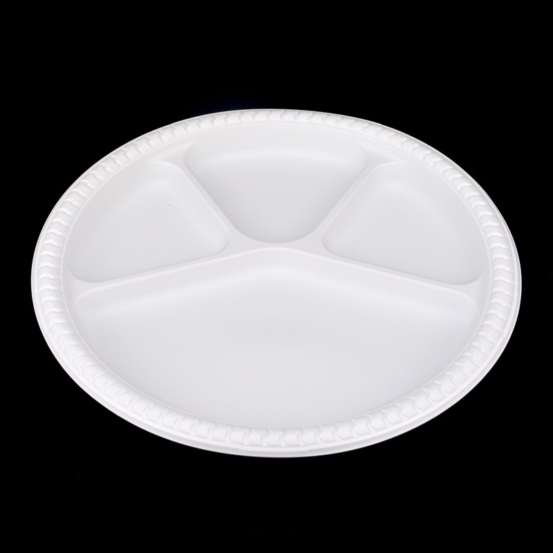 High quality Biodegradable 11 inch with 4 compartments dinner plate Quotes,China Biodegradable 11 inch with 4 compartments dinner plate Factory,Biodegradable 11 inch with 4 compartments dinner plate Purchasing